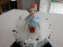 Vintage Reuge Dancer Ballerina Music Box Automaton
