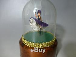 Vintage Reuge Dancing Ballerina Music Box Dancer Automaton (watch The Video)