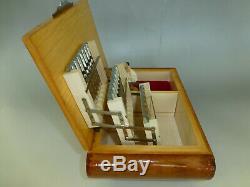Vintage Reuge Dancing Ballerina Music Jewelry Box