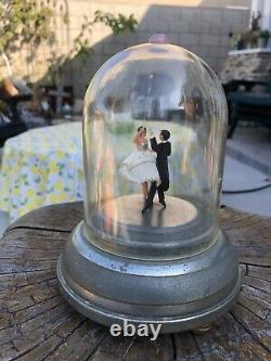Vintage Reuge Dancing Ballerinas Music Box Automaton (watch The Video)