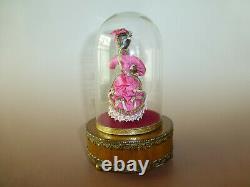 Vintage Reuge Danseur Louis Vuitton Dancing Ballerina Music Box Watch The Video