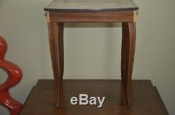Vintage Reuge Jewelry Table with built in Music Box made in ITALY
