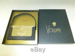 Vintage Reuge Miniature Music Box Volupte Powder Sterling Case + Original Box