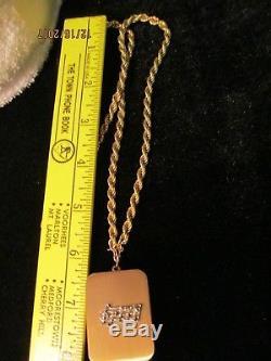 Vintage Reuge Miniature Wind Up Music Box Musical Necklace W Lador Movement