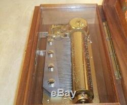 Vintage Reuge Music Box 50 SWITZERLAND All Original the Best Price Gift