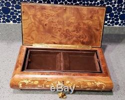 Vintage Reuge Music Box #6255 Unchained Melody Swiss Made