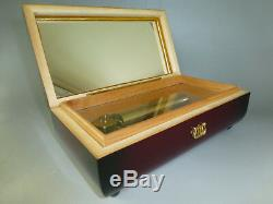 Vintage Reuge Music Box 72 Key Play Polonaise, March By Bach & Gavotte By Handel
