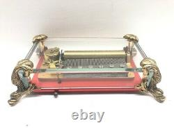 Vintage Reuge Music Box Ch 3/72 Made In Switzerland (cmp039323)