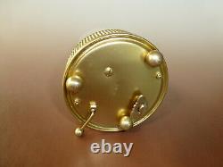 Vintage Reuge Music Box Dancing Ballerina Musical Alarm Clock (watch The Video)