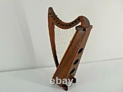 Vintage Reuge Music Box Harp Playing Amazing Grace (B24)