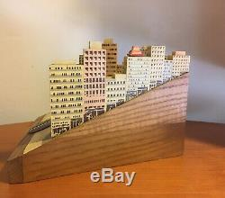 Vintage Reuge Music Box- I Left My Heart in San Francisco Cable Car Cityscape