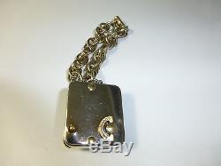 Vintage Reuge Music Box Musical Bracelet With Poodle Dog Design Fully Serviced
