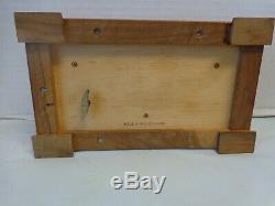 Vintage Reuge Music Box Sainte Croix Switzerland 3/72