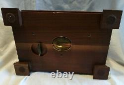 Vintage Reuge Music Box Swiss Movement Plays 4 Songs