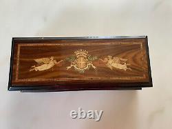 Vintage Reuge Music Franklin Mint La Musica d'Italia Grand Opera Music Box 1988