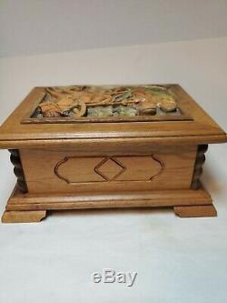 Vintage Reuge Music Switzerland Jewelry Box Sing Doctor Zhivago LARA'S THEME