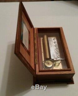Vintage Reuge Sainte Croix 3 Song 72 Note Lara's Theme Music Box Switzerland
