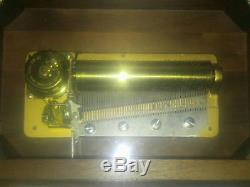 Vintage Reuge Sainte Croix 50 note 4 tune music box