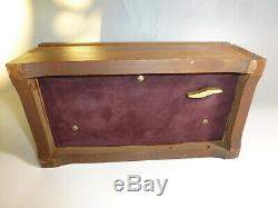 Vintage Reuge Sainte Croix 72 Keys 3 Songs Music Box The Craftsmen Of Dreams
