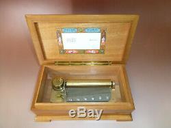 Vintage Reuge Sainte Croix 72 Keys Music Box Play Lara's Theme (Watch Video)