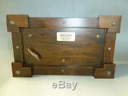 Vintage Reuge Sainte Croix 72 Keys Music Box Play Songs = Phantom of the Opera