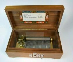 Vintage Reuge Sainte Croix Music Box Switzerland 4 Song 50 Note 45031 CH 4/50