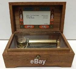 Vintage Reuge Sainte Croix Music Switzerland Music Box Ch 3/50- Pre-owned