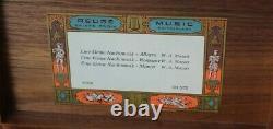 Vintage Reuge Sainte Croix Swiss Music Box Ch 3/72 Mozart Minuet Allegro Romance
