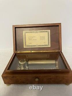 Vintage Reuge Sainte Croix Switzerland Music Box