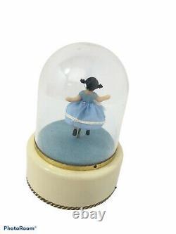 Vintage Reuge Spinning Child Ballerina Music Box See Video below