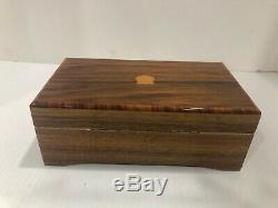 Vintage Reuge St. Croix Swiss 6/41 Wood Music Box