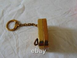 Vintage Reuge Ste Croix Music Box Key Chain-working