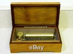 Vintage Reuge Swiss Cylinder Music Box