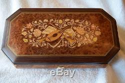 Vintage Rodi Musical Jewelry Box, Swiss Made, Movement By Reuge