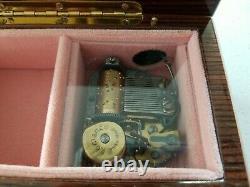 Vintage Romance Swiss Made Italian Music Box Plays Fur Elise