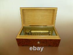 Vintage SWISS Thorens (Pre Reuge) Music Box 50Keys Play 3Songs (Watch The Video)