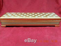 Vintage Swiss Ch 2/50 Reuge Music Box Cigarette Case