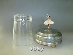 Vintage Swiss Cody Reuge Dancing Ballerina Music Box Serviced (watch Video)