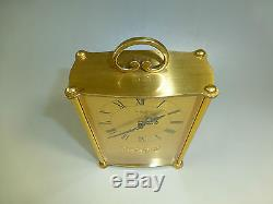 Vintage Swiss Imhof Reuge Music Box 8 Day Musical Alarm Clock (watch The Video)