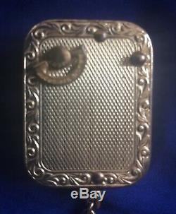 Vintage Swiss REUGE Ste Croix Music Box Keychain Dr Zhivago Lara's Theme