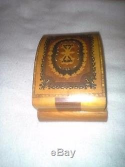 Vintage Swiss Reuge Dancing Ballerinas Music Box