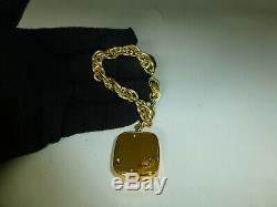 Vintage Swiss Reuge Minature Music Box Musical Bracelet With Chain (watch Video)