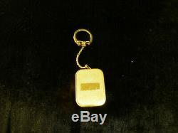 Vintage Swiss Reuge Minature Music Box Musical Key Chain (watch The Video)