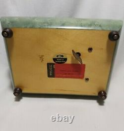 Vintage Swiss Reuge Music Box Musical Jewelry Storage working great condition