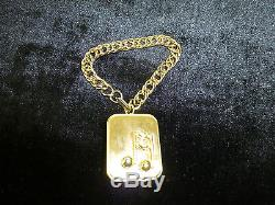 Vintage Swiss Reuge (lador) Minature Music Box Musical Bracelet (watch Video)