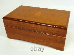Vintage Swiss Thorens (Pre Reuge) Music Box 4 Songs Working