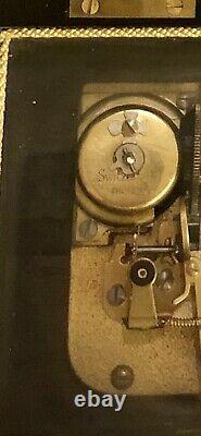 Vintage Swiss Thorens Wooden Music Box Pre Reuge 3/72 Working