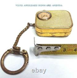 Vintage & lovely REUGE music box & watch WORKING SEE MOVIE