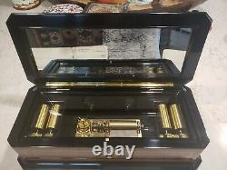 Vintage reuge music box swiss musical movement