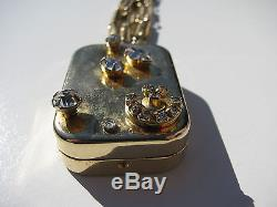 Vtg. Miniature Reuge Switzerland Music Box Bracelet Let Me Call You Sweetheart